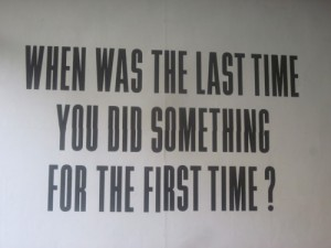 First times