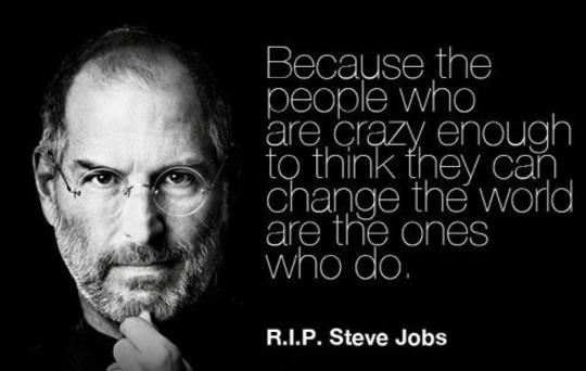 More Steve Jobs wisdom…